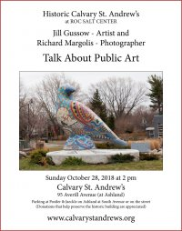 Jill Gussow and Richard Margolis Talk About Public Art poster 2